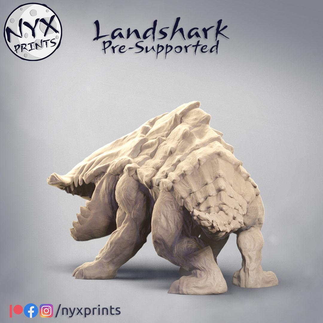 Landshark Miniature Bulette